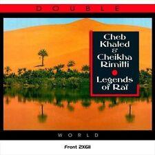 CHEB KHALED/CHEIKHA RIMITTI - RAI LEGENDS NEW CD