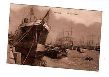 AK Hamburg Segelschiffhafen gelaufen 1917
