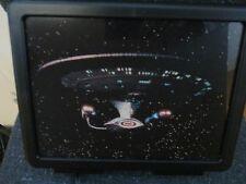 Star Trek The Next Generation Fiber Optic Print W/ Original Box Works