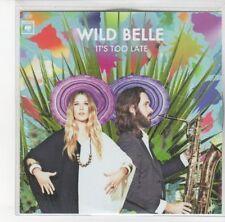 (DL248) Wild Belle, It's Too Late - 2012 DJ CD