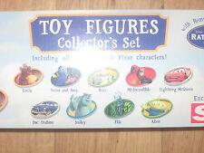 DISNEY da collezione figure giocattolo auto RATATOUILLE BUGS LIFE Monsters Inc, Toy Story