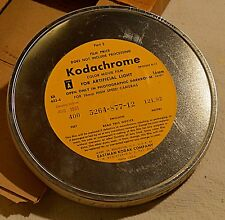 Unused KODACHROME 16mm Color Movie Film NOS Exp 1961 KODAK 400 Foot Roll/Reel