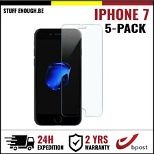 5 FOR 1 Screen Protector 9H LCD Protecteur Tempered Glass Film For iPhone 7