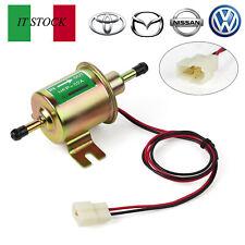 Universale 12V Pompa Elettrica Carburante Benzina Gasolio a bassa Pressione IT