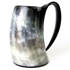 25 oz Sealed Tankard viking drinking horn mug for beer wine ale free shipping