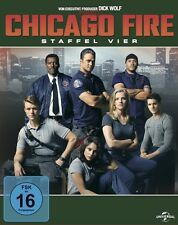 CHICAGO FIRE-STAFFEL 4   BLU-RAY NEU