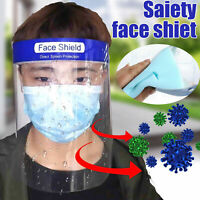 Anti Wind Anti Droplet Dust-proof Protect Full Face Covering Visor Face Shield