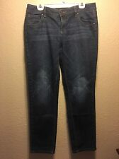 New york and company womens slim slouch jeans 10