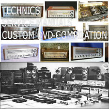 TECHNICS SERVICE MANUALS REPAIR MANUAL AUDIO HIFI TECHNICAL SCHEMATICS   PDF DVD