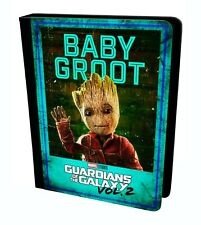 Cute Baby Groot Guardians Of The Galaxy Vol 2 Marvel Tablet Leather Case Cover