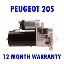 Peugeot 205 1.7 Diesel Démarreur Moteur 1983 1984 1985 1986 1987 Garantie de 12