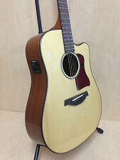 """41"""" Gosila 8012 Solid Spruce Top Acoustic Guitar,Fishman EQ,Natural+Free Gig Bag"""