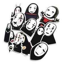12pcs Anime Totoro No Face Man Sticker for Cars Laptop Luggage Skateboard