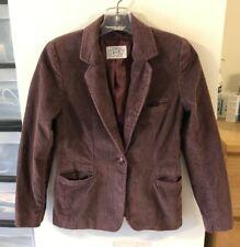 4c7b5605cc195a Vintage Nordstrom Point of View one button purple corduroy jacket/blazer sz  8/S