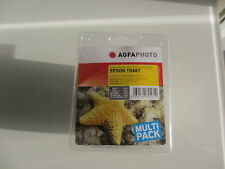 Agfa Multipack T0487 para Epson Stylus Photo r-200 220 300M RX640 rx-620 RX600