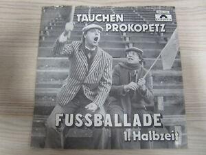 Single /  Tauchen-Prokopetz ?– Fußballade  / AUSTRIA / RARITÄT /