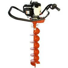 General M240h One Man Gas Power Post Hole Digger Honda Engine With 6 Inch Auger