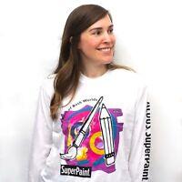 Vintage Aldus SuperPaint Best of Both Worlds for Apple Macintosh Unisex T-Shirt