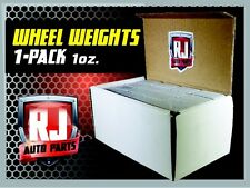 1 - 9 Lb Box Wheel Weights - 1 Oz. Stick-On Adhesive Tape 144 Pieces