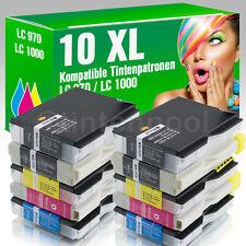 10 Druckerpatronen für Brother LC1000 MFC 5460 CN