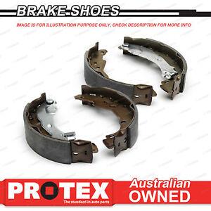 4 Rear Protex Brake Shoes for DAIHATSU Scat F10 F20 F50 4WD Handbrake 1974-81