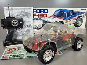 Tamiya 1/10 R/C Ford F-150 TA02 Chassis Original Kit w/ Towerhobbies & ESC 58161