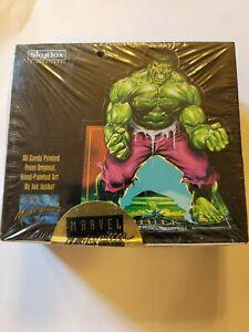 Skybox - Marvel Masterpieces 1992 - Sealed box -▪︎