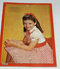 Vintage Angela Cartwright Inlaid Picture Puzzle The Danny Thomas Show Artcraft