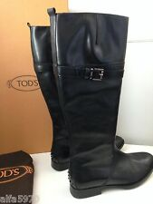 TOD'S WOMENS TALL BOOTS - NEW WITH BOX SIZE US 10M