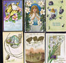 1905-15 Chicks, Angel, Butterflies & Eggs, Easter Antique POSTCARD LOT U