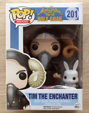 Funko Pop Monty Python & The Holy Grail Tim The Enchanter (Creased) + Protector