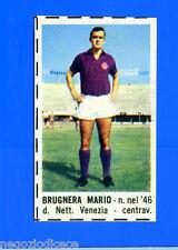 CORRIERE DEI PICCOLI 1966-67 - Figurina-Sticker - BRUGNERA - FIORENTINA -New