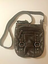 Classic Soft Small Faux Leather Everyday Purse Shoulder Cross Body Brown