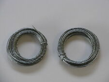 Braided Wire, Picture Frame  #2;  2-15 ft Coils, 30 Ft Total
