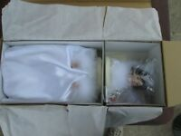 Ashton Drake Winter Romance Bride Doll by Sandra Bilotto Mint in Box