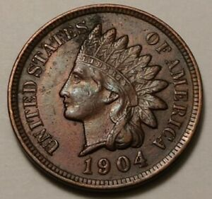 1904 Indian Head Cent 3303