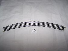 Hornby ~ R607 ~ Curved track ~ Made in Austria ~ 35cms ~ With rail joiners ~ OO