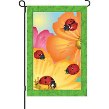 Ladybug Party Brilliance Garden Size Flag .8.Pr 51972