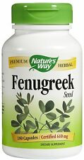 Fenugreek Seed, 610 mg, 180 Caps - Nature's Way