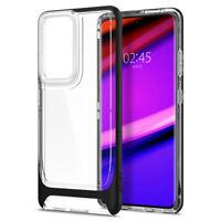 Galaxy S21, S21 Plus, S21 Ultra Case   Spigen® [Neo Hybrid Crystal] Bumper Cover
