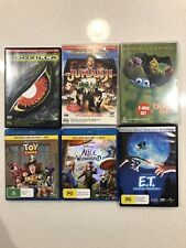Kids & Family DVD Bluray  DVD's Various Bulk Blu Rays Disney Pixar Bundle Movies