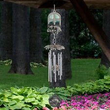 My Best Companion Cat Wind Chime Pet Memorial Remembrance Pewter Finish - NIP