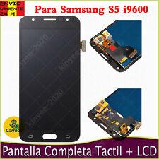 Pantalla LCD Para Samsung Galaxy S5 i9600 G900F Tactil Digitalizador Negro AAA+