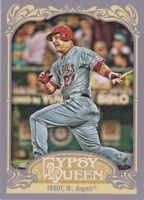 MIKE TROUT 2012 Topps Gypsy Queen #195 Los Angeles Angels