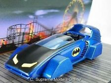 BATMAN BATMOBILE 1990'S DC MODEL CAR 1/43RD BLUE/BLACK COLOUR EXAMPLE T3412Z(=)
