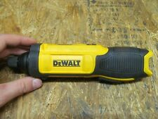 "Dewalt DCF682 8V Li-Ion 1/4"" Gyroscopic Inline Screwdriver  ( LOT 14615)"