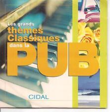 CD SINGLE HORS COMMERCE--THEMES CLASSIQUES DANS LA PUB--BACH/SCHUBERT/ROSSINI