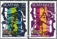 slovenia 151-152 mint never hinged mnh 1996 Olympics Summer