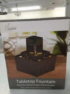 True Living Essentials Tabletop Fountain