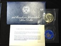 1974 S Eisenhower Ike SILVER Dollar in Original Mint Envelope